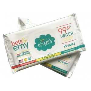 Bets & Emy Wipes Travel Size - 10ct
