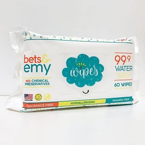 Bets & Emy Wipes - 60ct