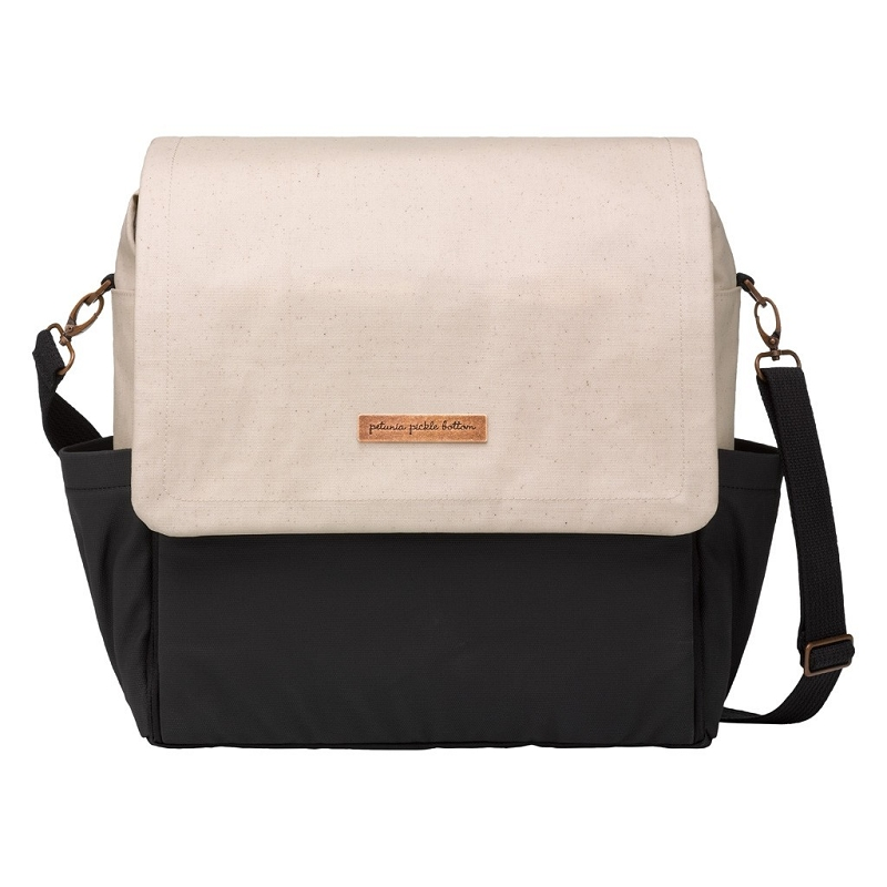 Boxy Backpack - Birch & Black