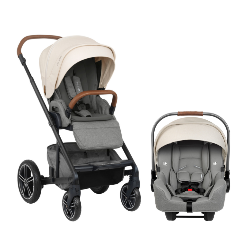 New 2019 Nuna Mixx Travel System In Birch Shop The Best Baby Gear At Sugarbabies