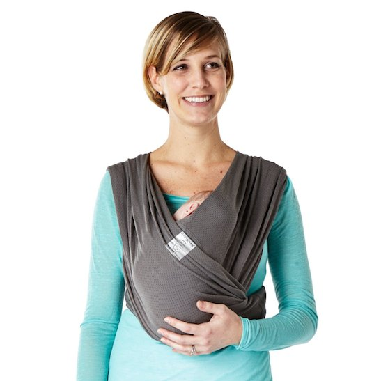 Baby K Tan Breeze In Charcoal Shop Wrap Carriers That