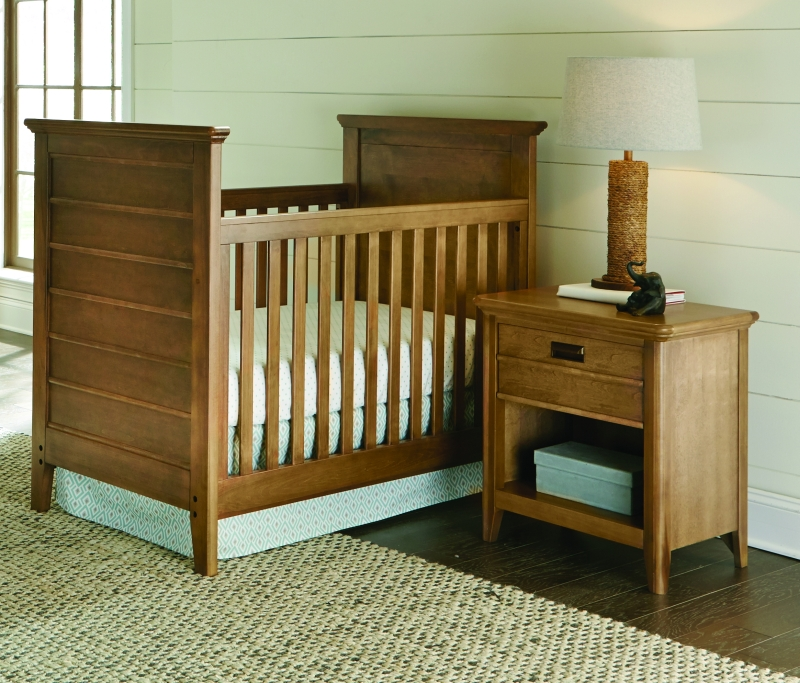 Brixy   Oak Park Cottage Crib In Prairie