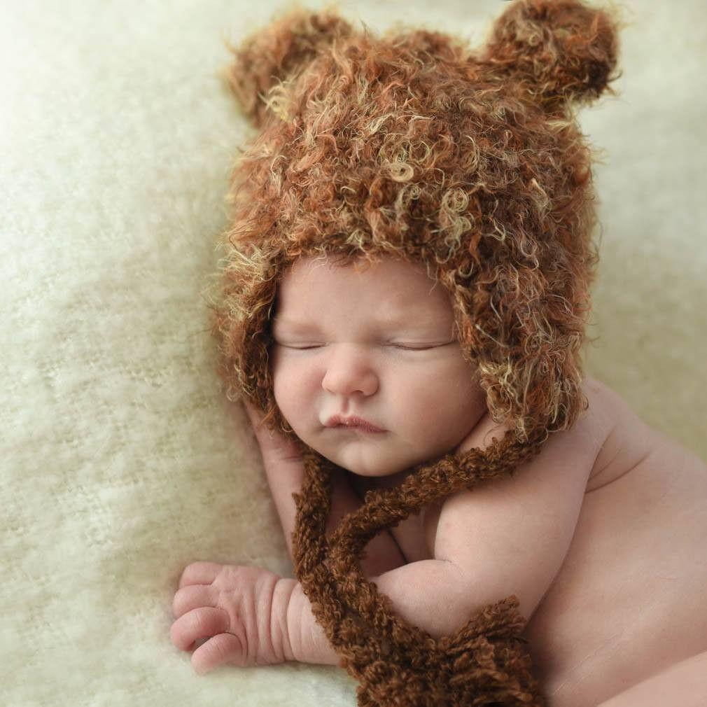 Huggalugs Brown Bear Beanie