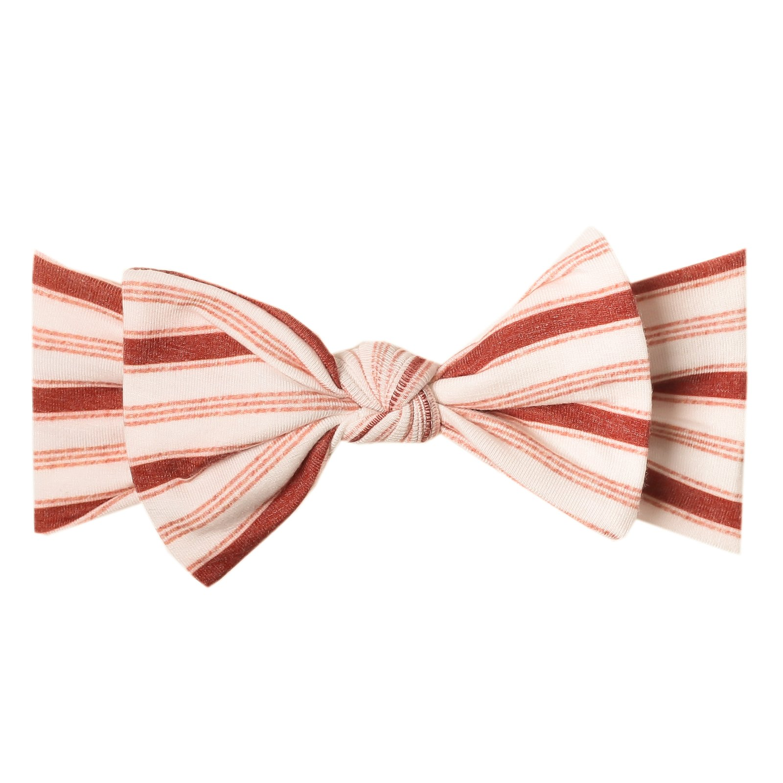 Cinnamon Knit Headband Bow
