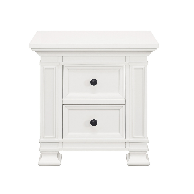 Franklin & Ben Classic Nightstand - Warm White