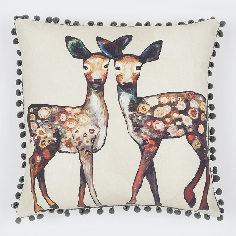 Throw Pillow Forest Friends 15548