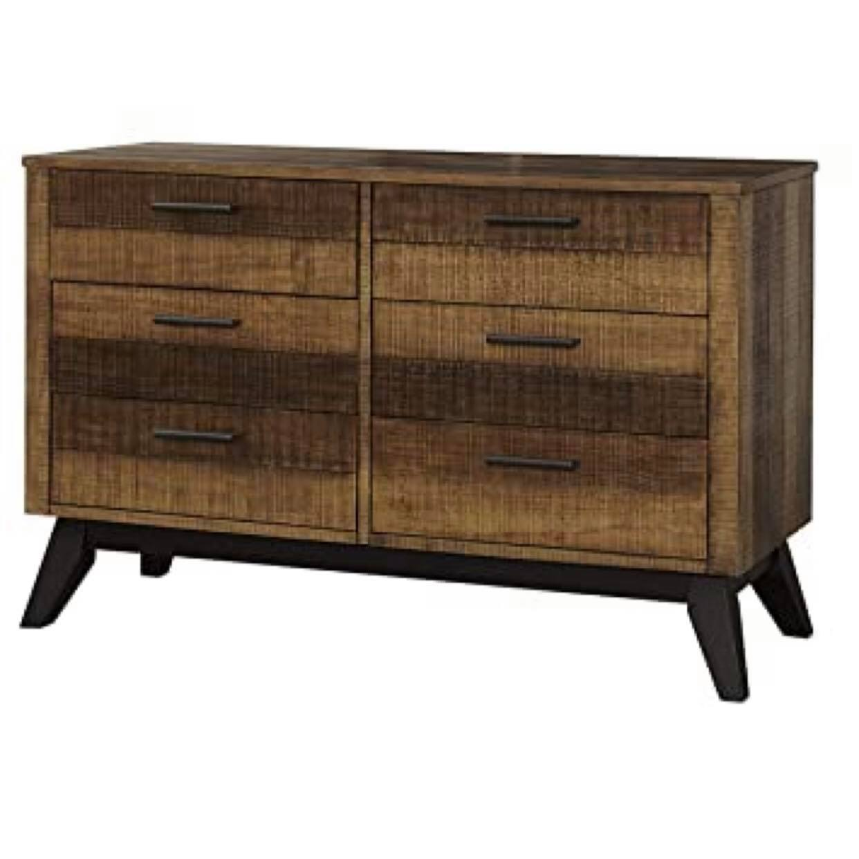 Westwood Urban Rustic Double Dresser - Brushed Wheat