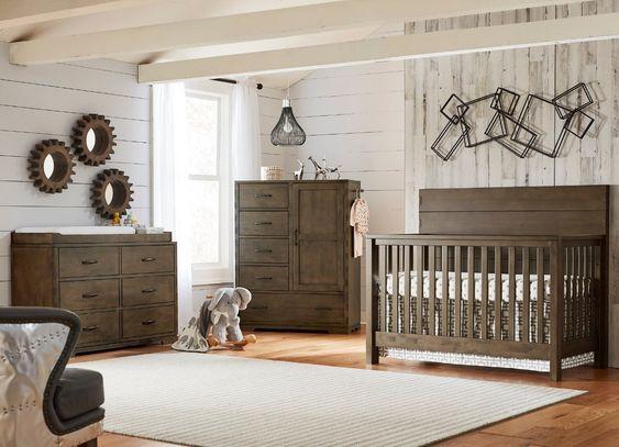 Westwood Dovetail Crib Graphite