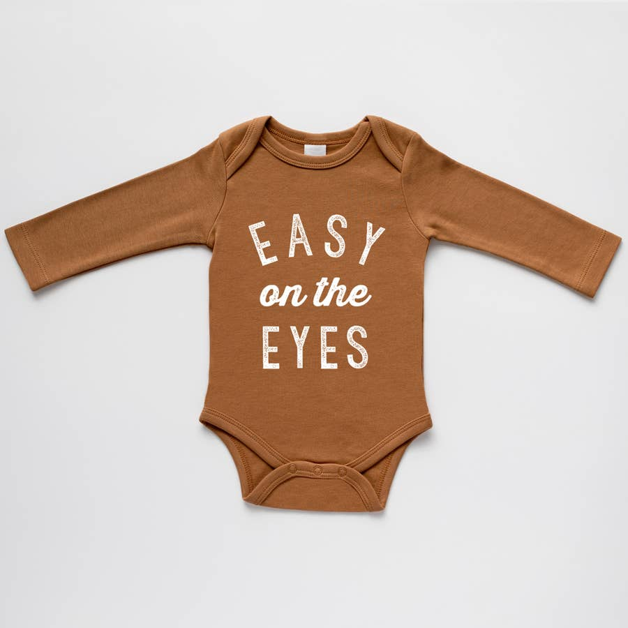 Camel Easy on the Eyes Organic Onesie