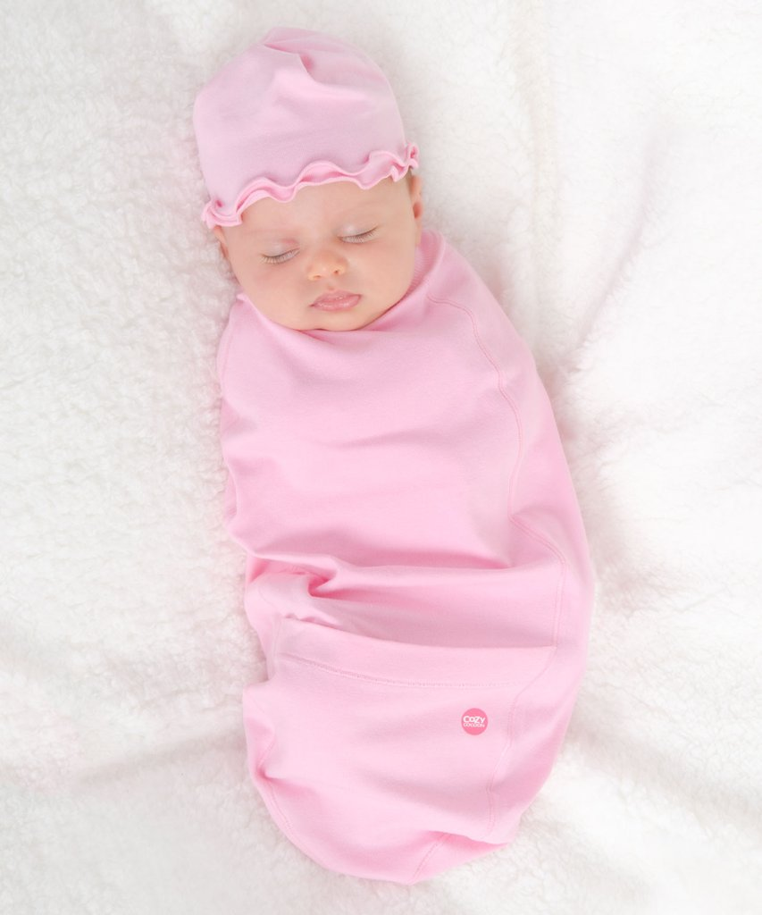 28b967852c5 Home   Shop by Designer   Cozy Cocoon   Pink Baby Bunting Set