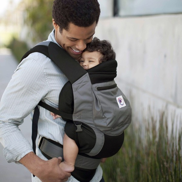 Ergo Baby Performance Carrier In Charcoal Black The