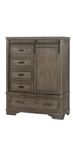 Westwood Foundry Chifferobe - Brushed Pewter