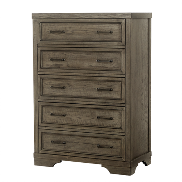 Westwood Foundry Chest - Brushed Pewter