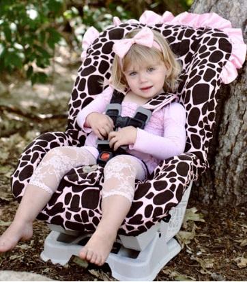 Ginny Giraffe Toddler Car Seat Cover