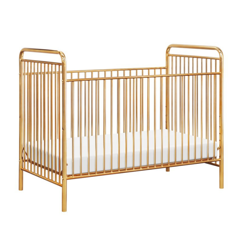 Babyletto Jubilee 3-in-1 Convertible Crib - Gold