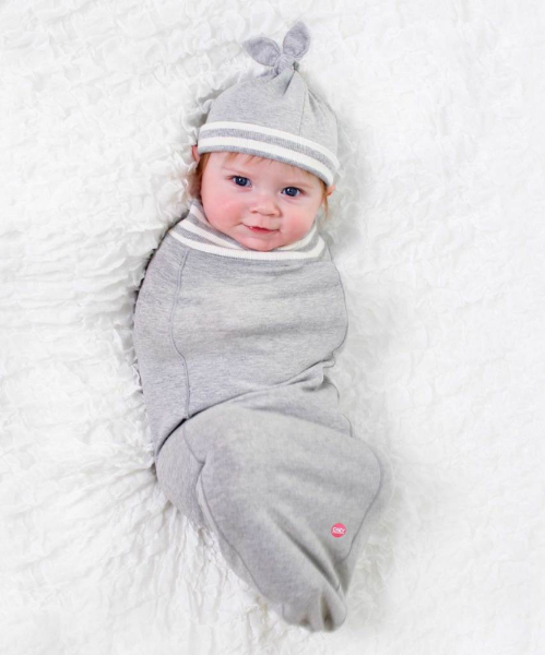 Grey Baby Bunting Hat Set Shop Cozy Cocoon Baby Buntings At