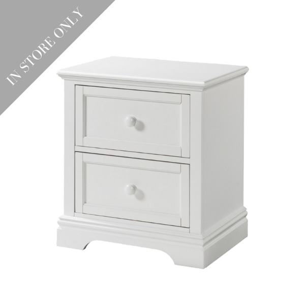 Highland Park Nightstand - White (Boutique Exclusive!)