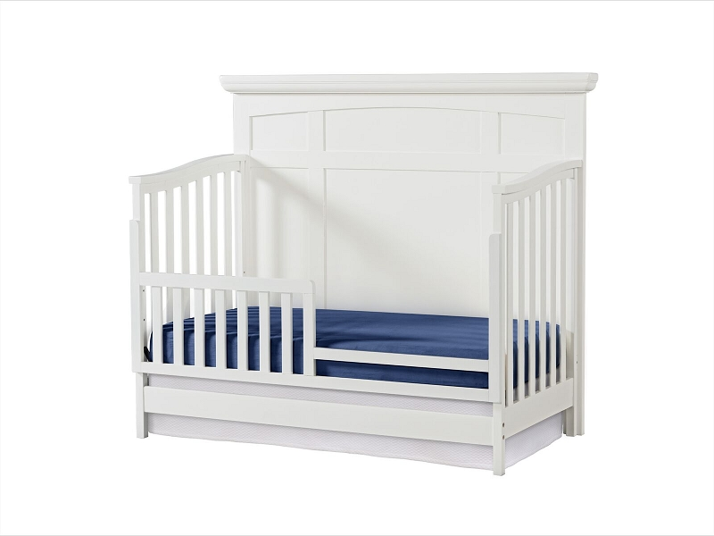 In Store Exclusive Highland Park Crib In White Shop Nursery