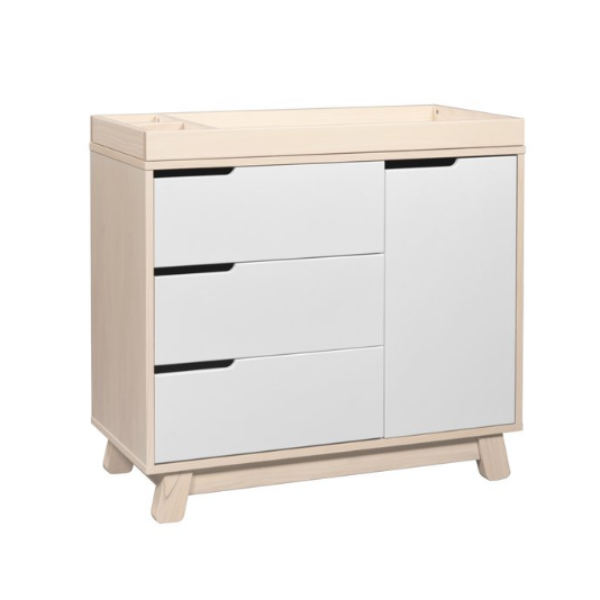Babyletto Hudson 3-Drawer Changer Dresser - Natural