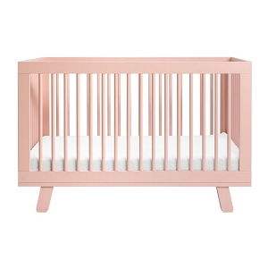 Babyletto Hudson 3-in-1 Convertible Crib - Blush Pink