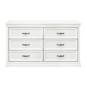 Franklin & Ben Langford 6 Drawer Dresser - Warm White