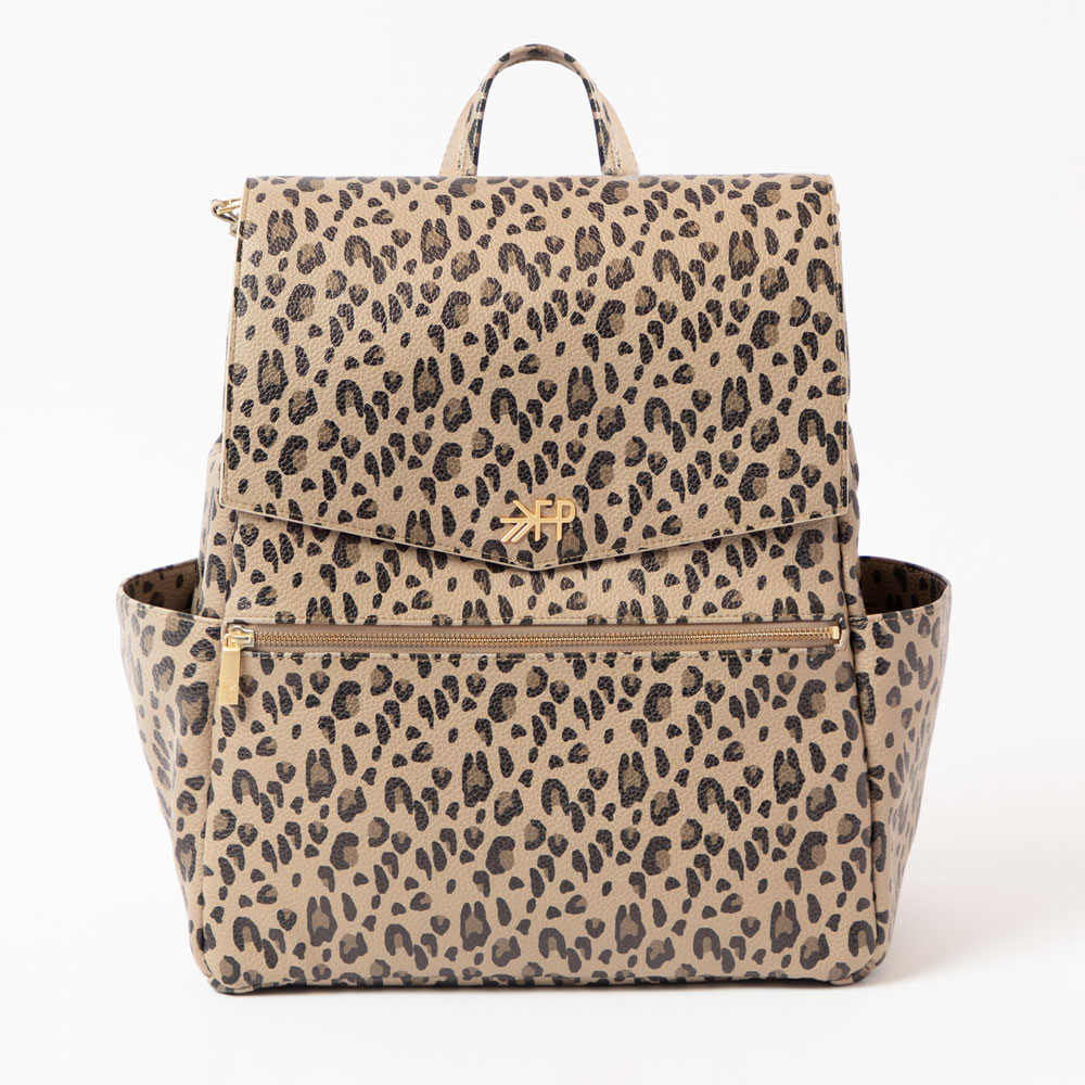 Freshly Picked Diaper Bag - Leopard