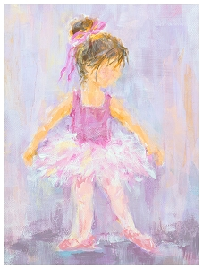 Little Dancer 3 Canvas Art
