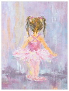 Little Dancer 4 Canvas Art