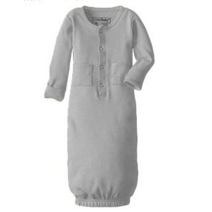cd890d90e8f Organic Gown - Light Grey