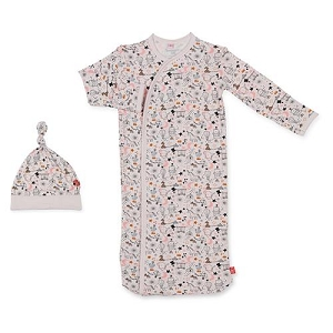 Magnetic Modal Gown & Hat Set - Pink Cirq Bebe