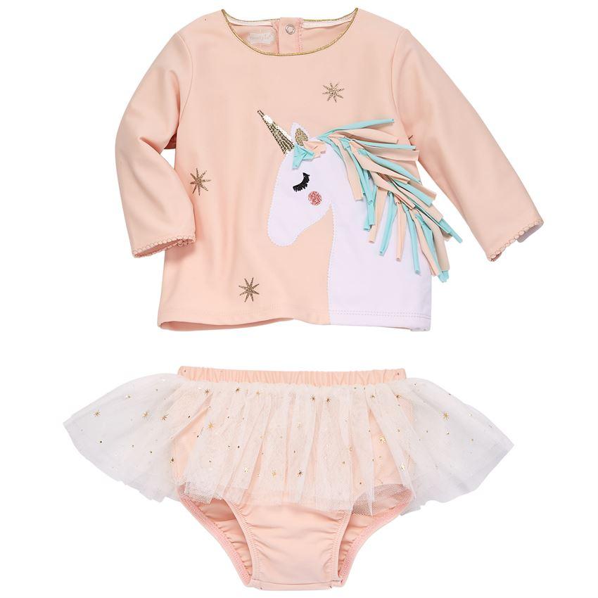 dfa691f0812e Mud Pie Unicorn Rash Guard Swimsuit | Shop Trendy Swimwear at ...