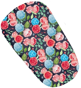 Quick Change Cover for DockATot™ - Navy Painted Peony