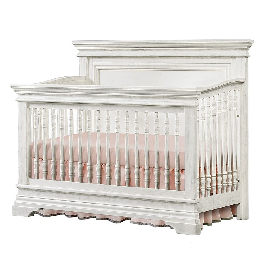 Westwood Olivia Convertible Crib - Brushed White