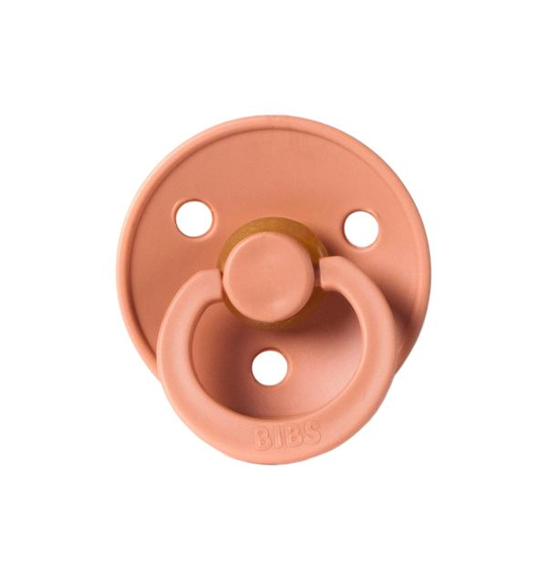 Natural Rubber Pacifier - Peach