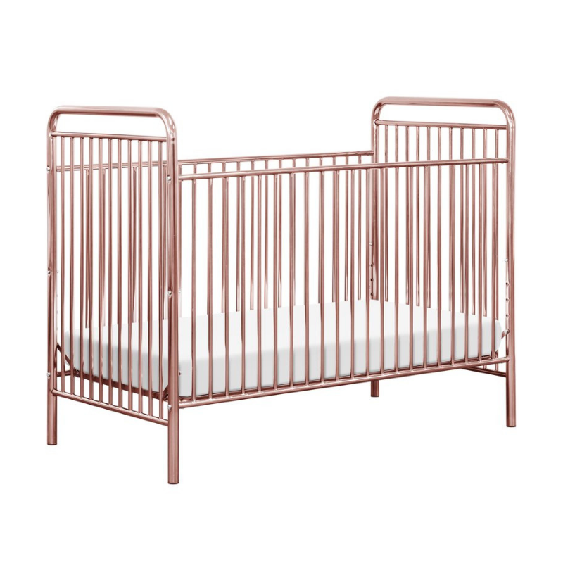 Babyletto Jubilee 3-in-1 Convertible Crib - Pink Chrome