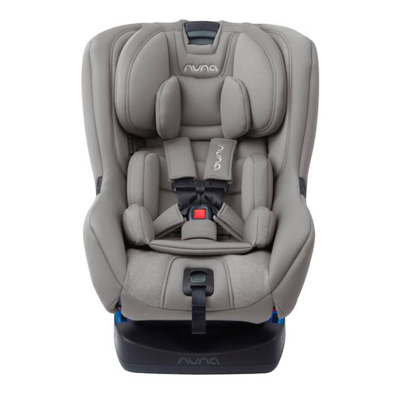 NEW! 2019 Nuna Rava Convertible Car Seat in Frost | Car ...