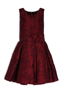 Isobella & Chloe Ruby Spice Drop Waist Dress