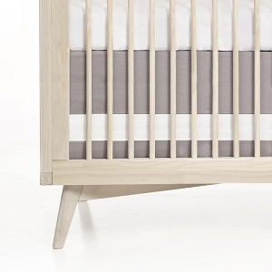Oilo Crib Skirt - Dove