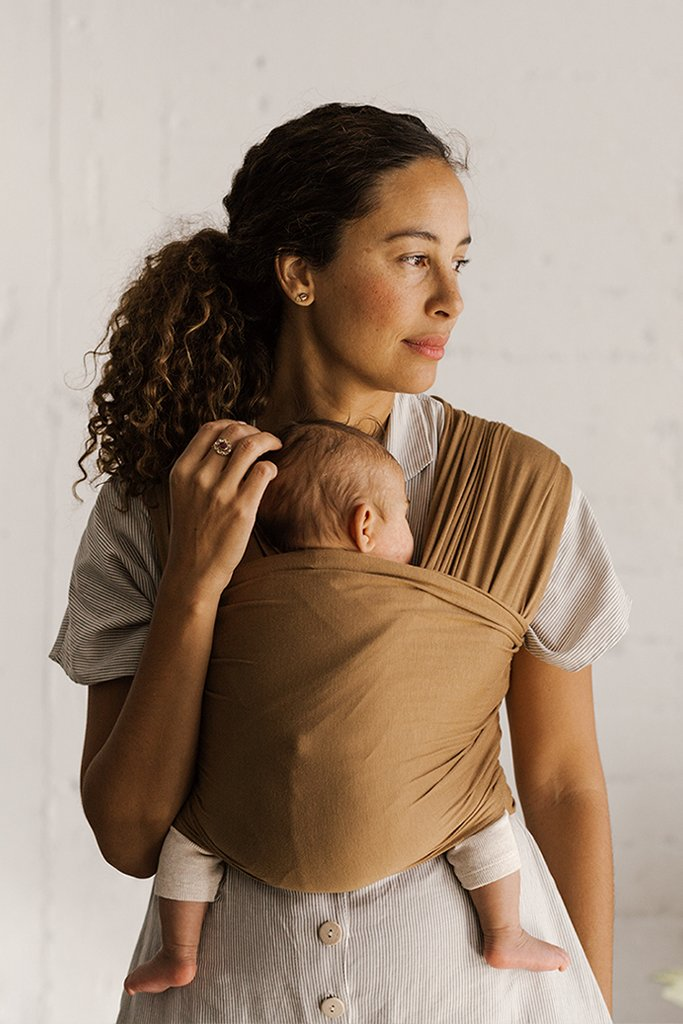Solly Baby Wrap In Blush Swiss Dot Shop Baby Carriers At Sugarbabies