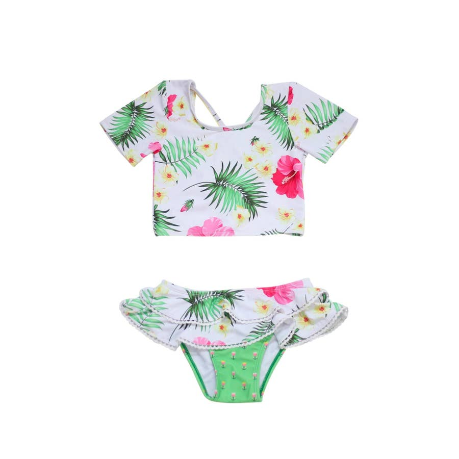 Sunset Tropical Two Piece Set