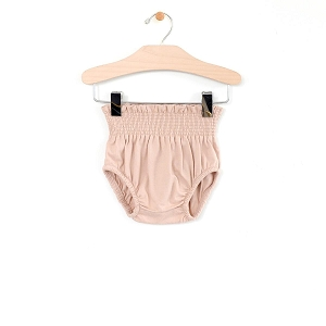 Soft Peach Rib High Waist Bloomer