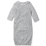 Skip Hop Boho Feather Gown - Grey