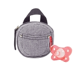 Pacifier Pocket - Heather Grey
