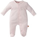 Magnificent Baby Footie - Solid Pink