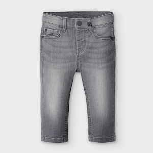 Mayoral Baby Grey Boy Slim Fit Jeans