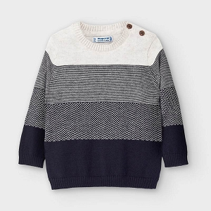 Color Block Baby Boy Sweater
