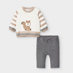 Fox Sweater & Pant Set