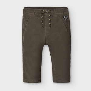 Mayoral Baby Boy Chocolate Micro-Corduroy Pants