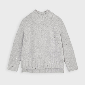 Mayoral Girls Sweater - Steel