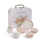 Bunnies by the Bay Pretty Girl Tea Set
